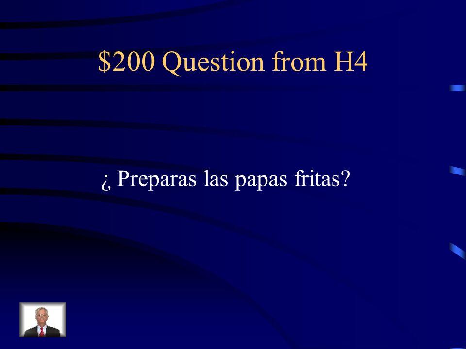 $100 Answer from H4 Sí, voy a pedirlo./Sí, lo voy a pedir.
