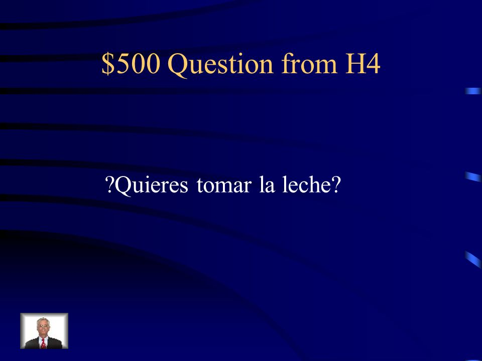 $400 Answer from H4 No, no me gusta comerlo.