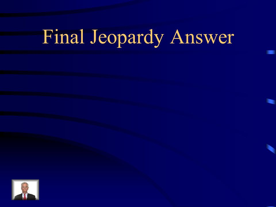 Final Jeopardy Give commands on how to make lunch.