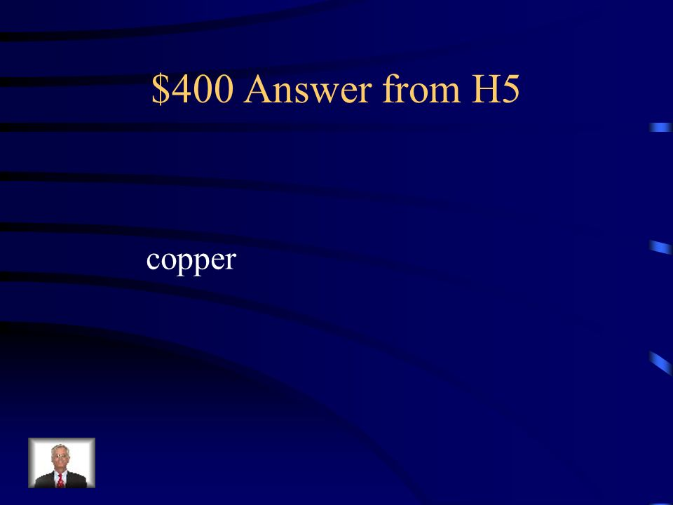 $400 Question from H5 What is a major Chilean export?
