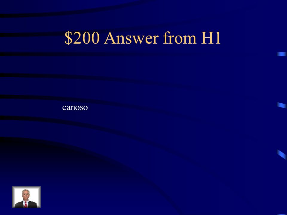 $200 Answer from H2 sobrina