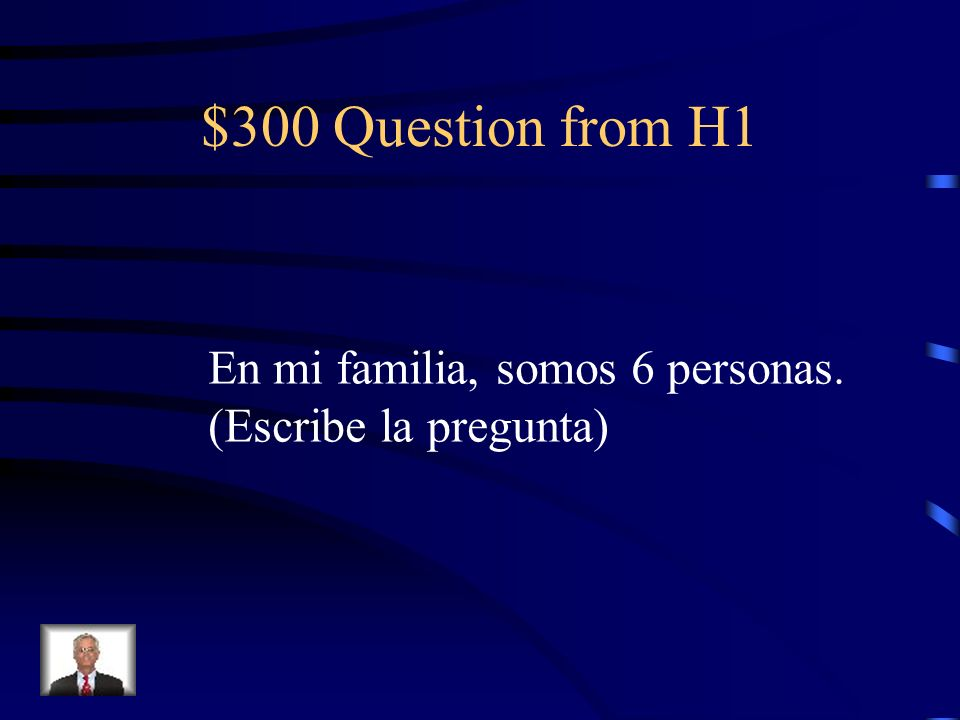 $200 Answer from H1 canoso
