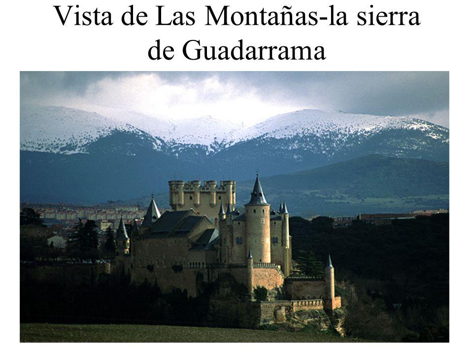 Vista de Las Montañas-la sierra de Guadarrama