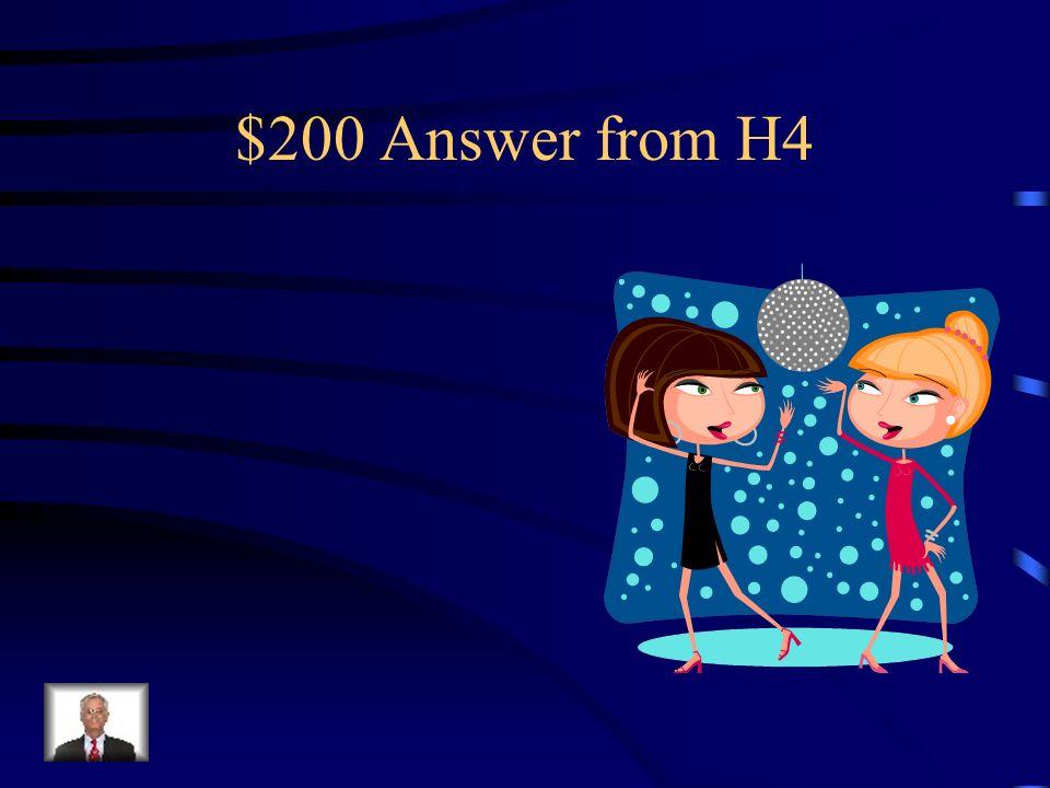 $200 Question from H4 Dónde están la cama la silla Los libros La alfombra
