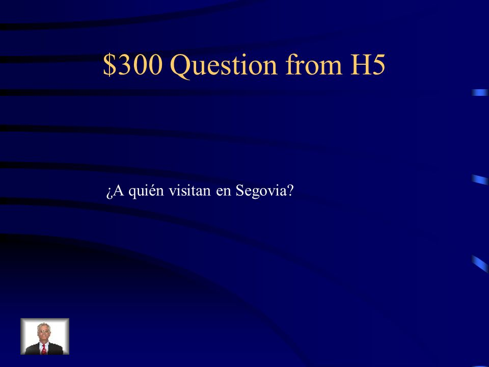 $200 Answer from H5 El acueducto romano