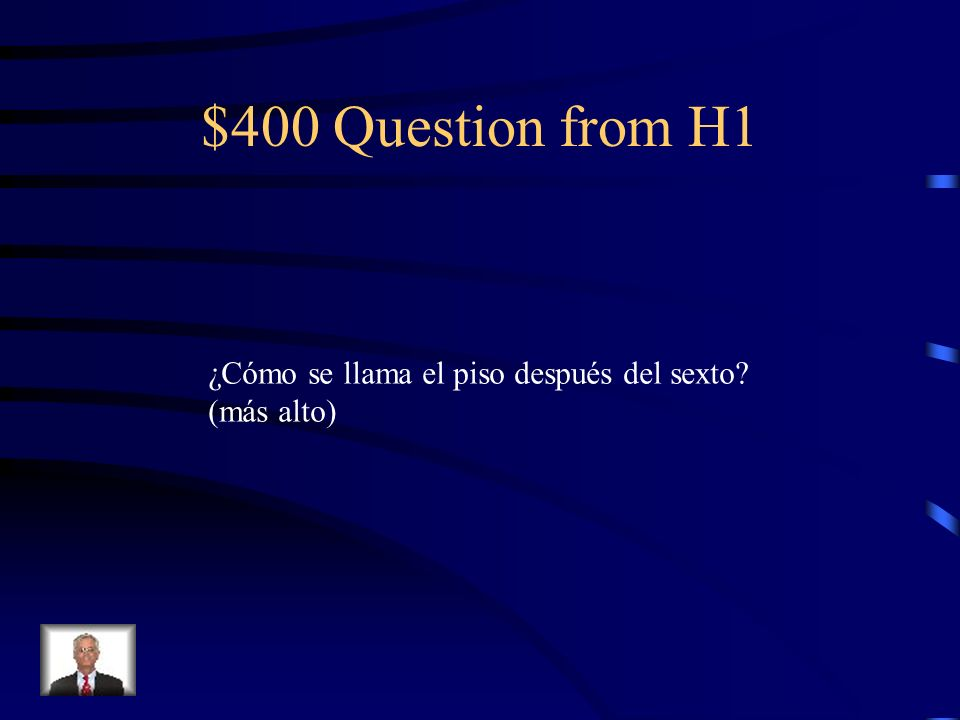 $400 Question from H2 No doblar