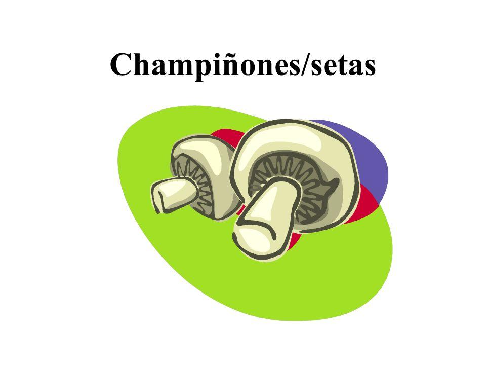 Champiñones/setas