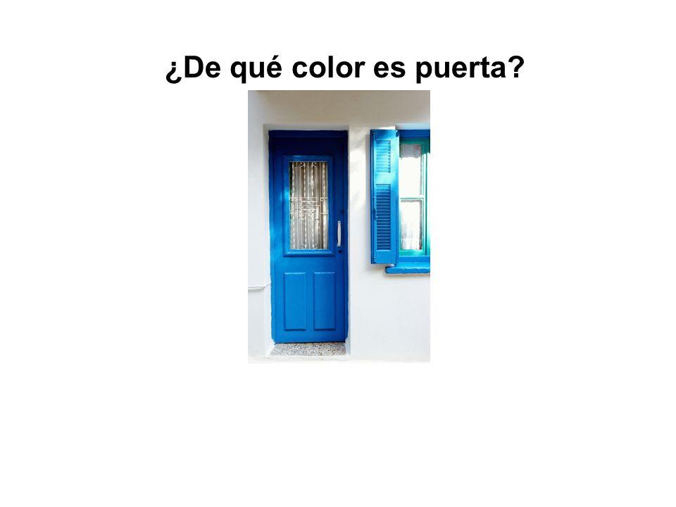 ¿Qué es esto? Esto es una puerta.