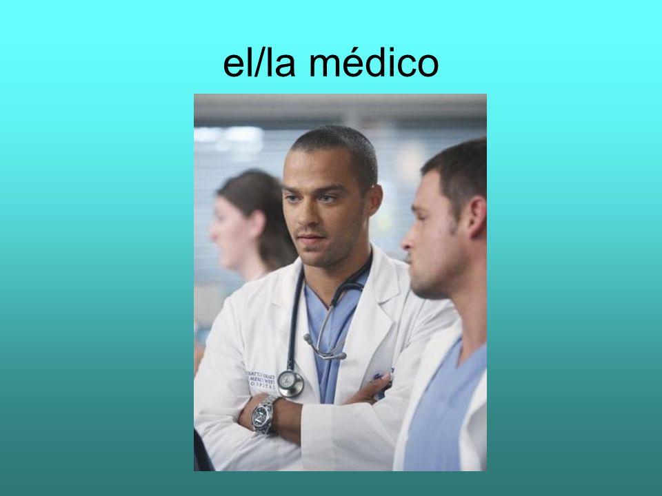 el/la médico