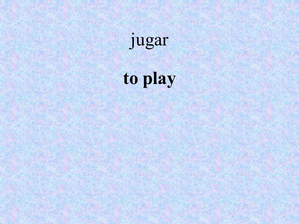 jugar to play