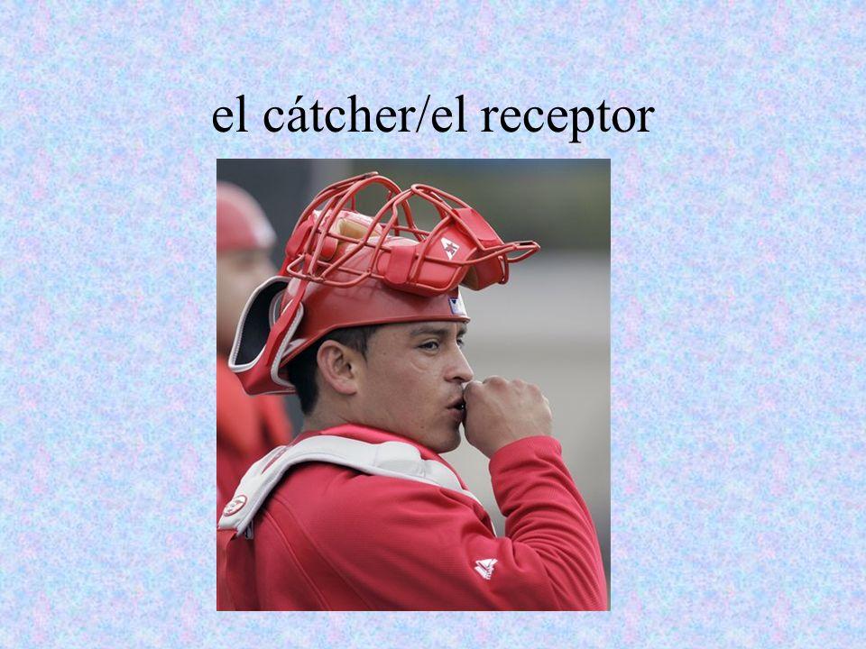 el cátcher/el receptor