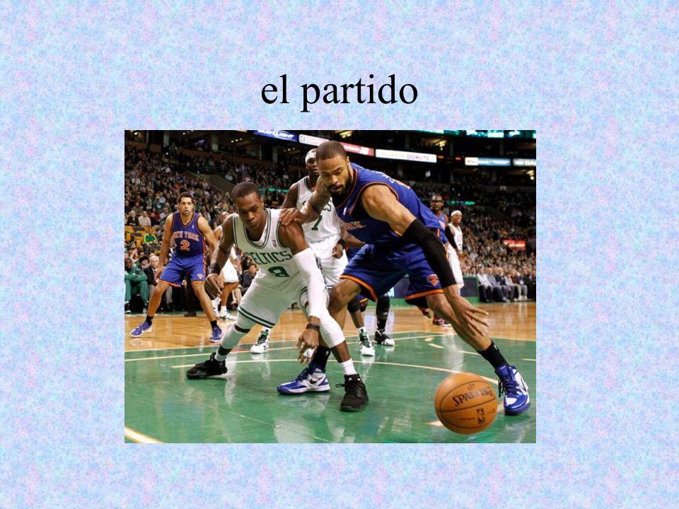 el jugador/la jugadora