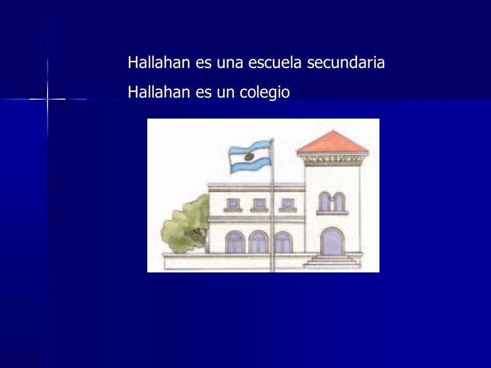 Hallahan es una escuela secundaria Hallahan es un colegio