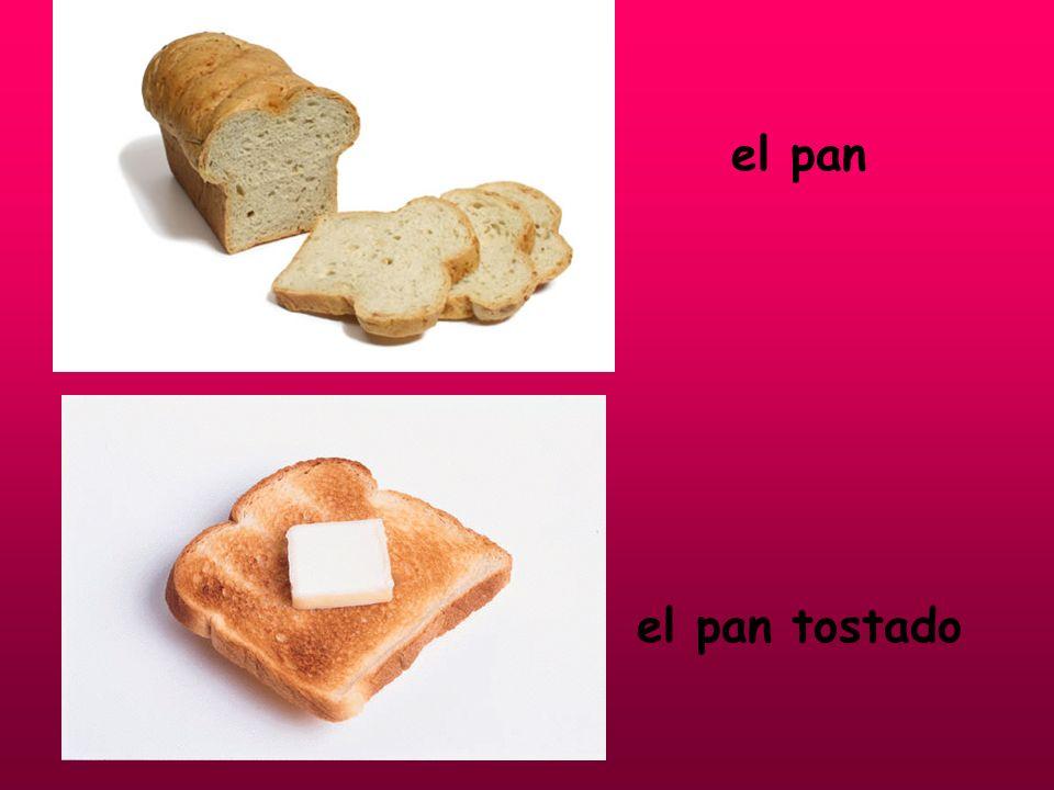 el pan el pan tostado