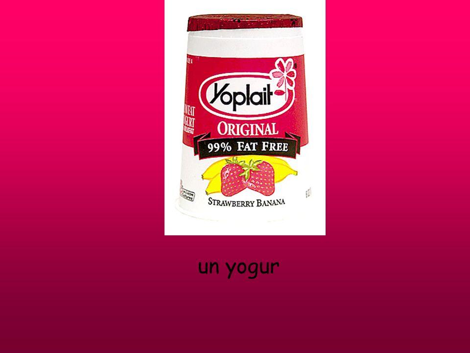 un yogur