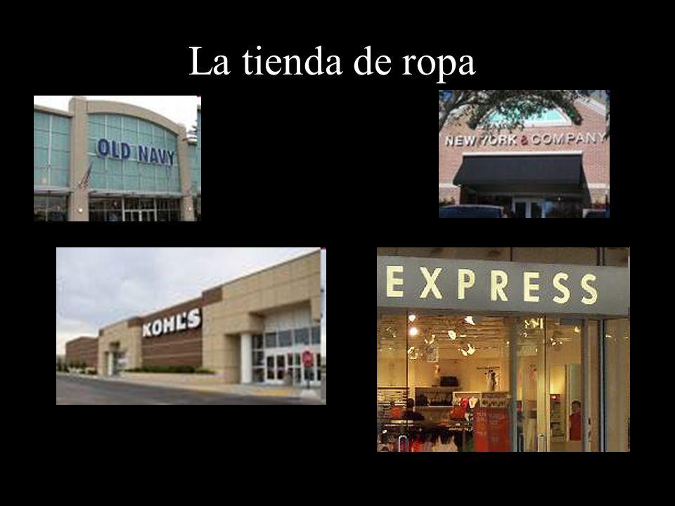 La tienda de ropa