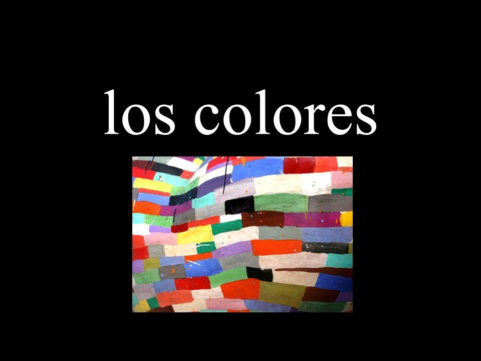 los colores colors