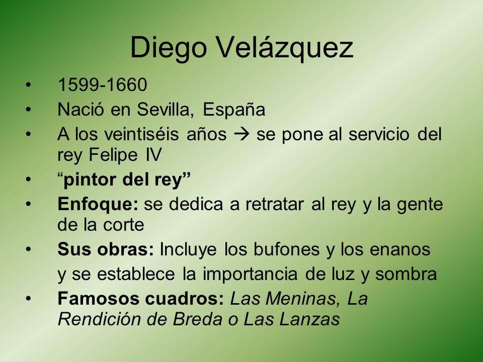 Respuestas 1.Diego Velázquez 2.Pablo Picasso 3.Francisco de Goya 4.Frida Kahlo 5.El Greco