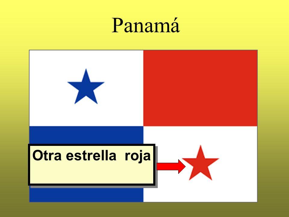 Panamá Otra estrella roja