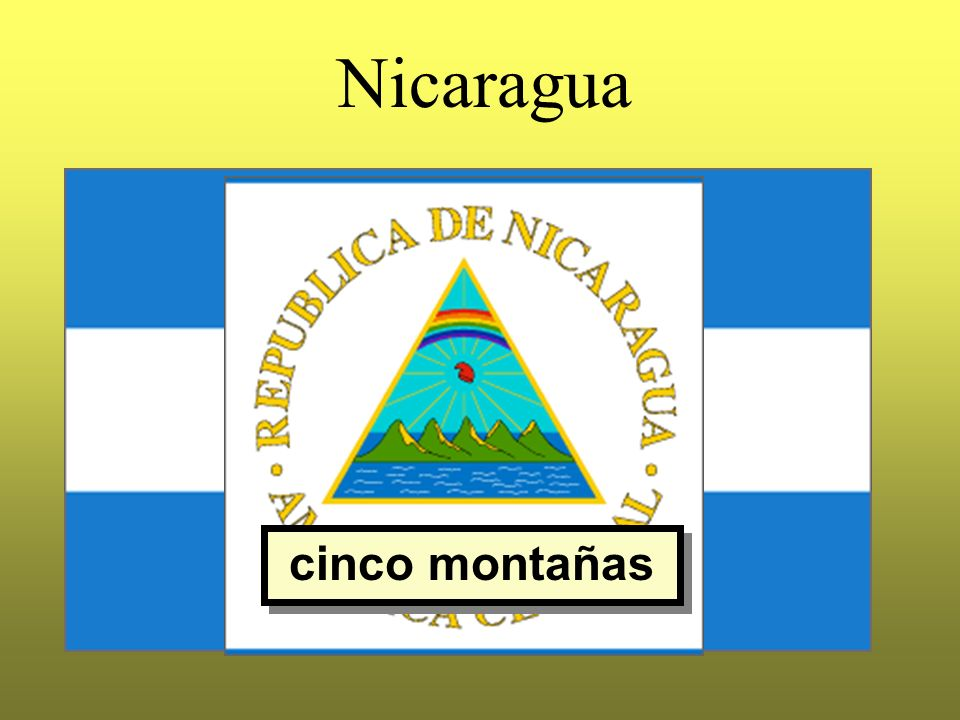 Nicaragua cinco montañas