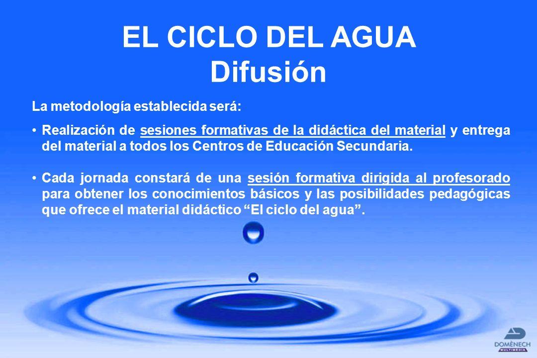 La metodología establecida será: Realización de sesiones formativas de la didáctica del material y entrega del material a todos los Centros de Educaci