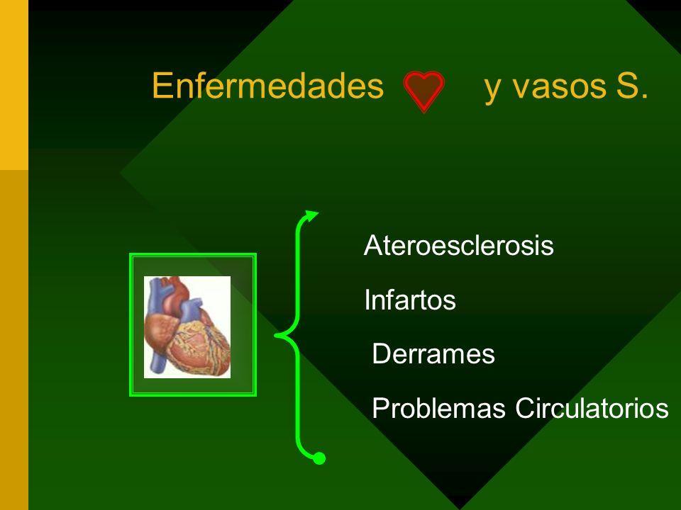 Enfermedades Degenerativo Crónicas Degeneran Crónica e irreversible > 90% de todas las patologías Causa Conse cuencia