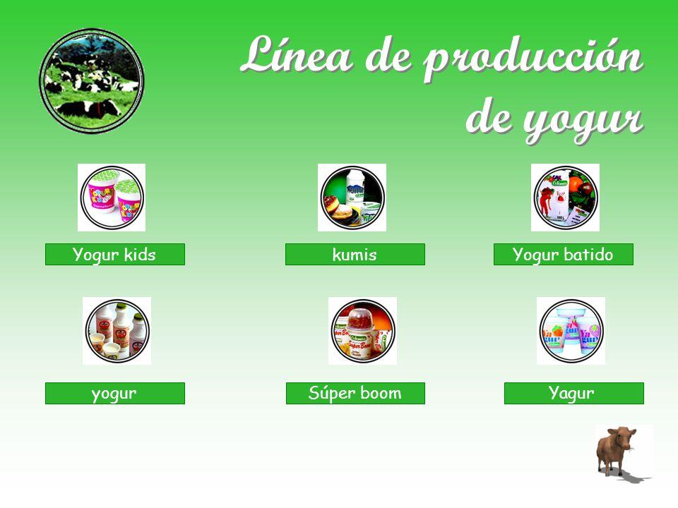 Línea de producción de yogur Yogur kids kumisYogur batido yogurSúper boomYagur