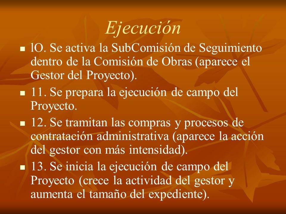 Ejecución lO.