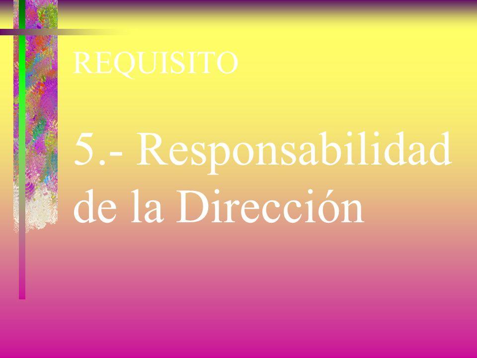 REQUISITO 4.- sistema de gestión de la calidad