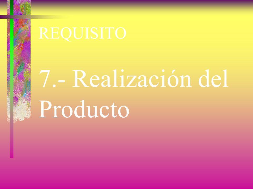 REQUISITO 6.- Gestión de los Recursos