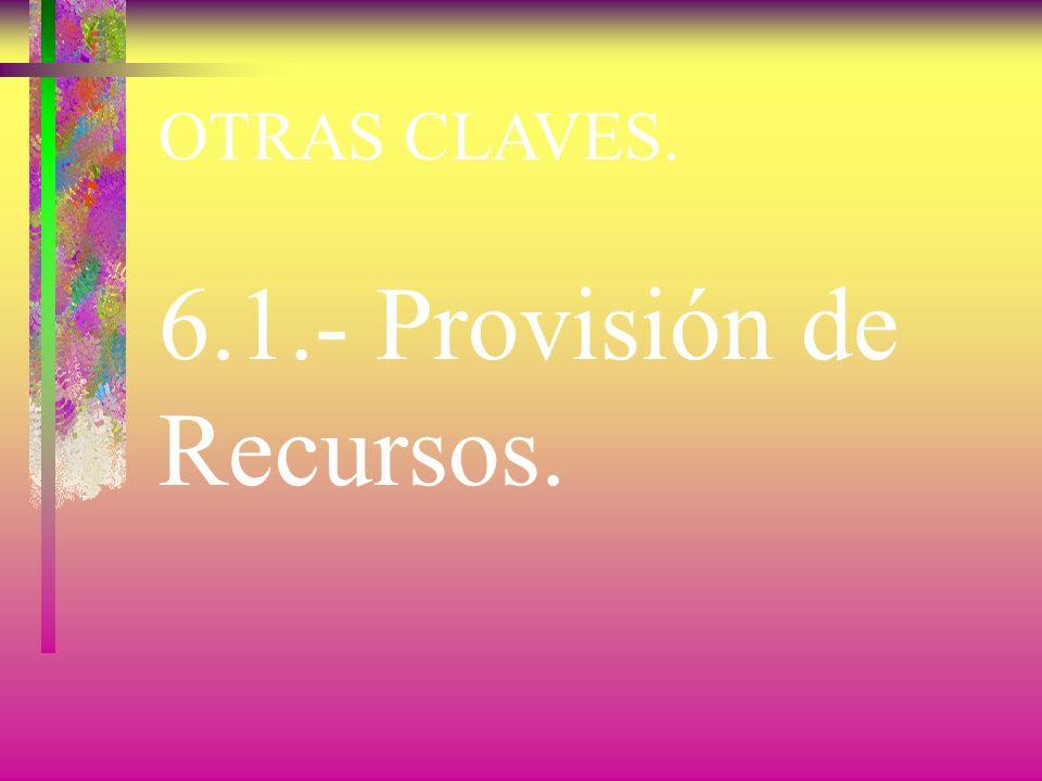 OTRAS CLAVES. 5.3.- Política de la Calidad