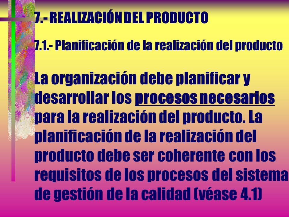 6.- GESTIÓN DE LOS RECURSOS 6.4.- Ambiente de trabajo La organización debe determinar y gestionar el ambiente de trabajo necesario para lograr la conf