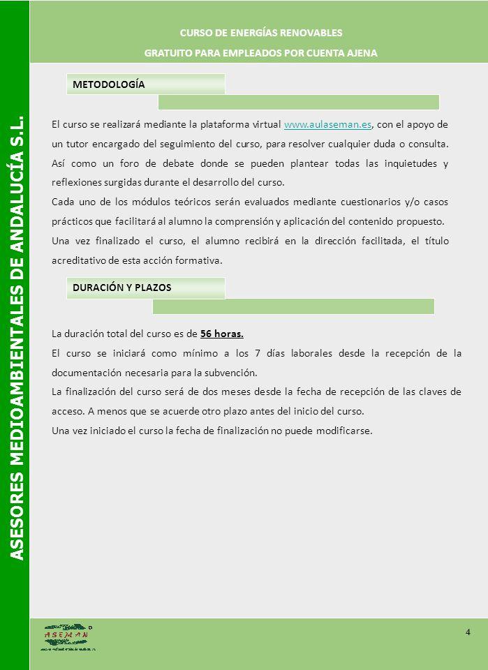 ASESORES MEDIOAMBIENTALES DE ANDALUCÍA S.L.