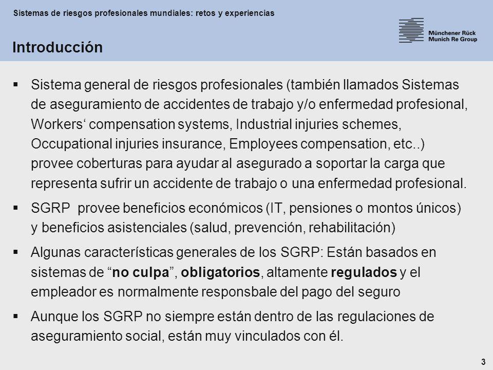 Sistemas de riesgos profesionales mundiales: retos y experiencias 4 OECE (1948) OCDE (1960) OTAN (1949) UEO (1954) Consejo de Europa (1949) CECA (1951) CEE,CEEA (1957) Unión Europea (1993 Maastricht) (1997 Amsterdam) Aproximación al modelo de aseguramiento social en la U.E.