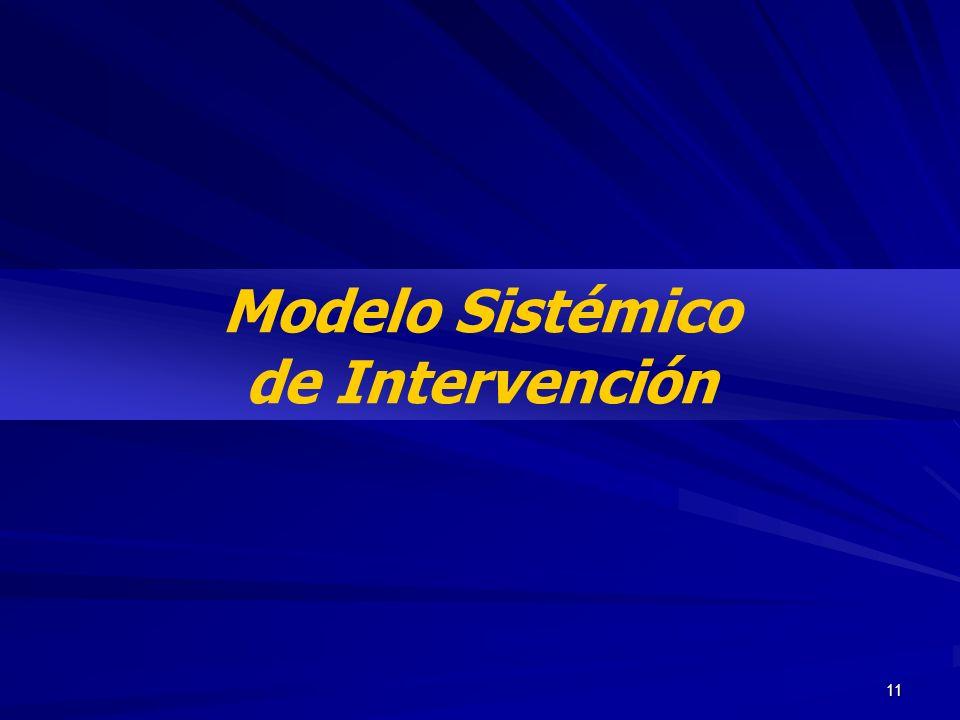 11 Modelo Sistémico de Intervención