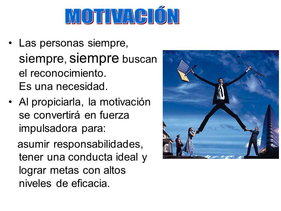 El desarrollo de un clima de motivación sostenida es de suma importancia.