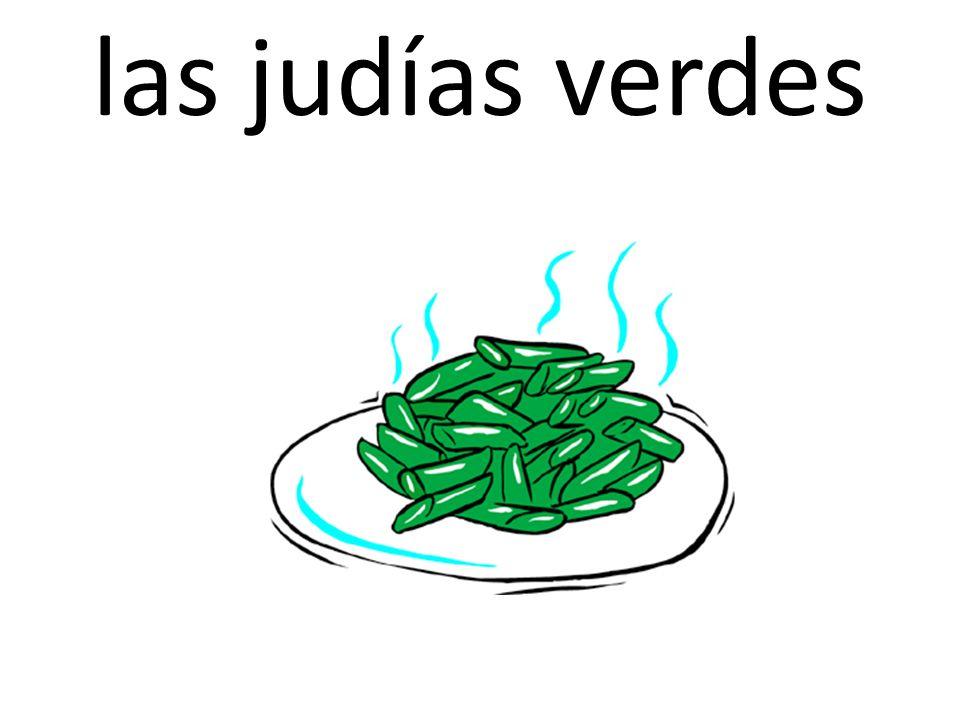 las judías verdes