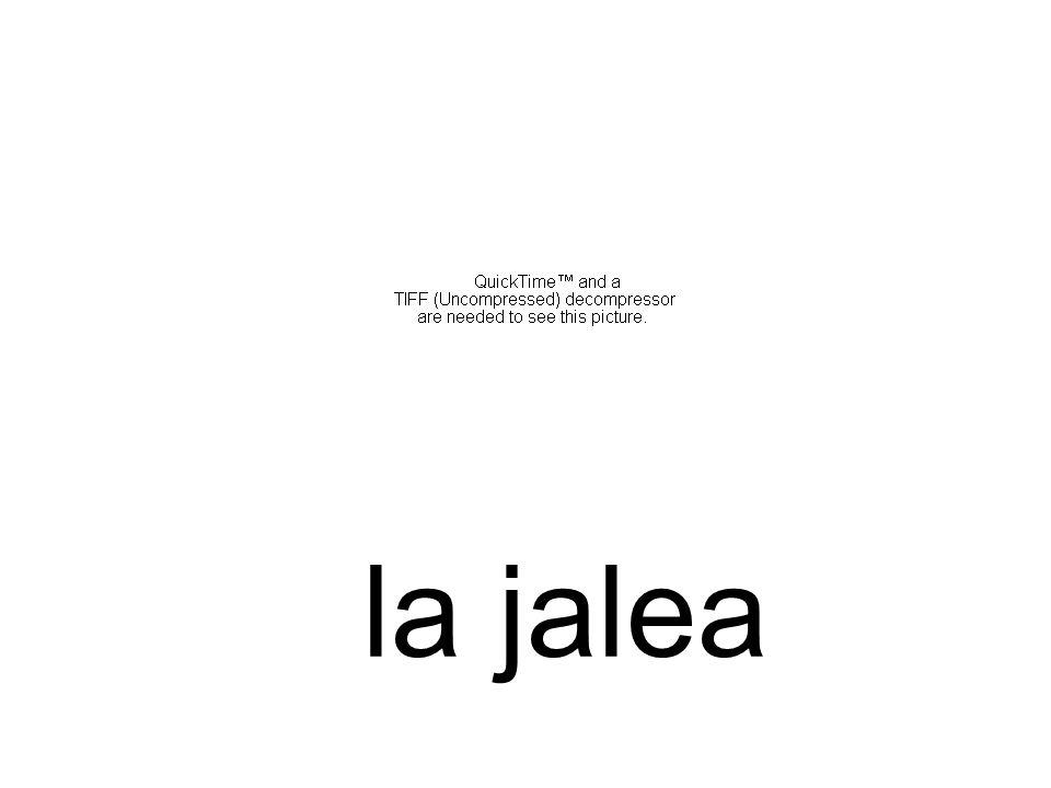 la jalea