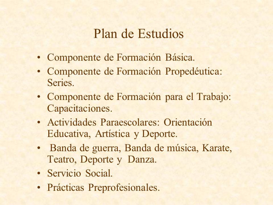 Documentos oficiales normativos Reglamentos General e Interior Manual de Organización Programa Institucional de Desarrollo Plan de Estudios Guías Prog