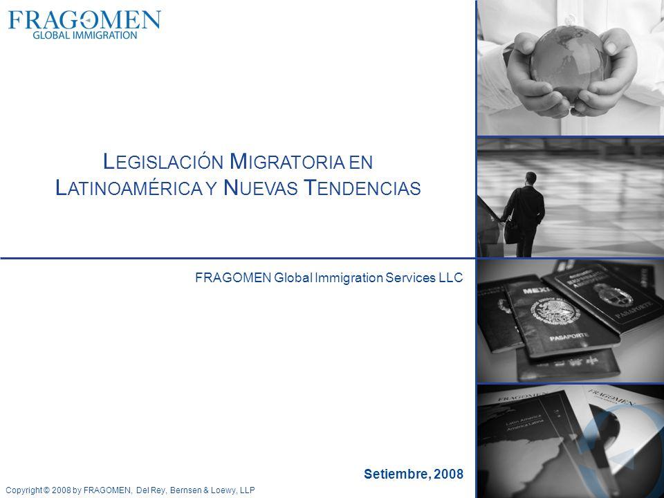 Copyright © 2008 by FRAGOMEN, Del Rey, Bernsen & Loewy, LLP Ariana Azofeifa Senior Immigration Coordinator Brasil Principales visas Temporarias: a.