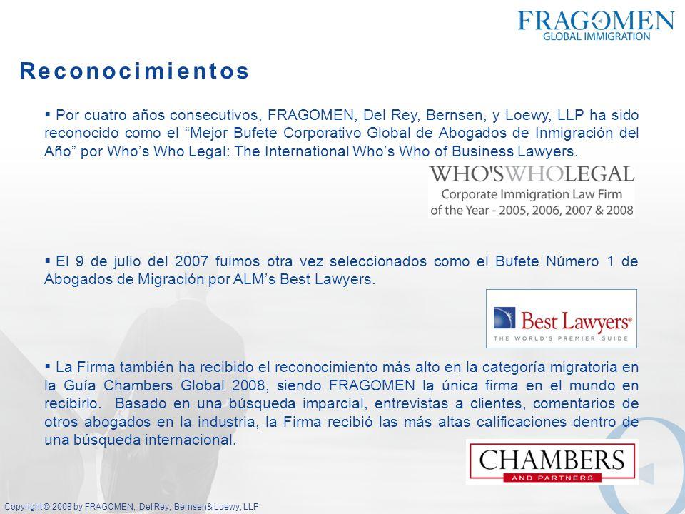 Copyright © 2008 by FRAGOMEN, Del Rey, Bernsen & Loewy, LLP Contexto Económico en Latinoamérica (IED y PIB) IED a Latinoamérica Los flujos de Inversión Extrajera Directa (IED) a América Latina y el Caribe aumentaron un 11% a US $84.000 millones en 2006, según la Conferencia de las Naciones Unidas sobre Comercio y Desarrollo (UNCTAD) del 2007.
