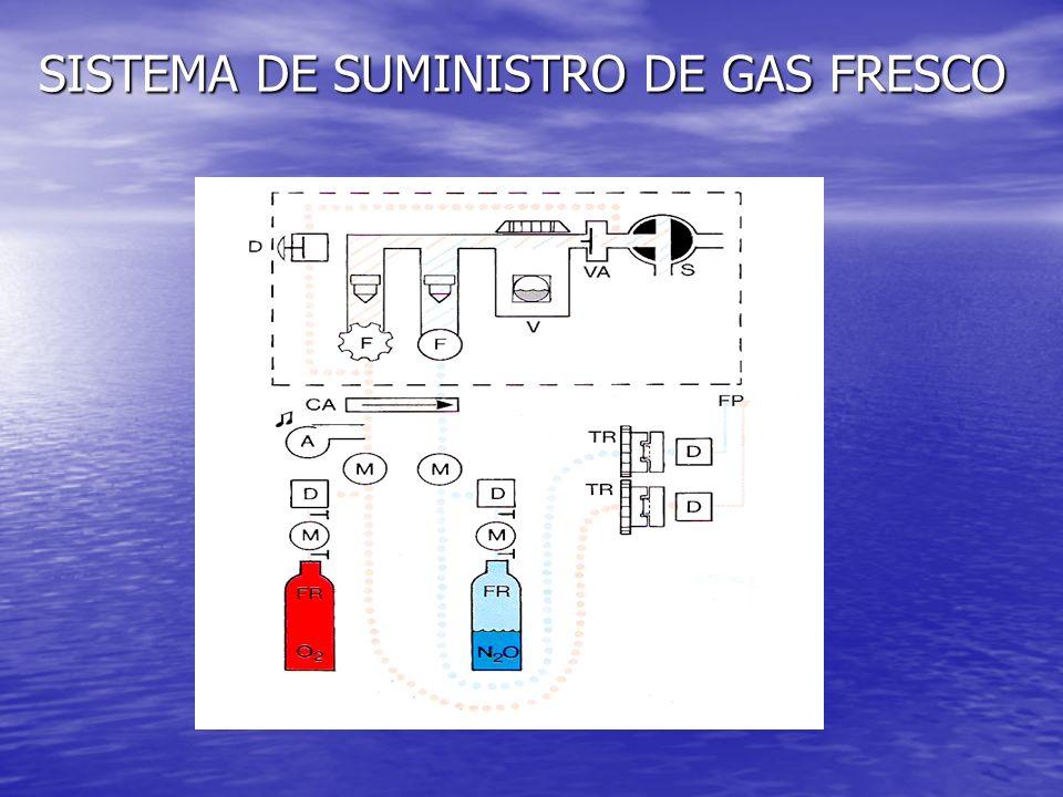 SISTEMA DE SUMINISTRO DE GAS FRESCO