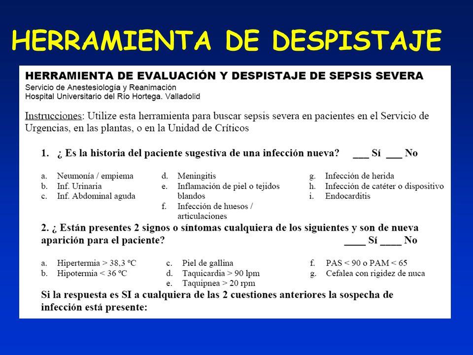 HERRAMIENTA DE DESPISTAJE