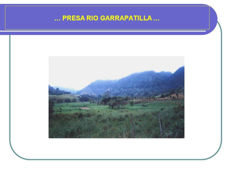 … PRESA RIO GARRAPATILLA …