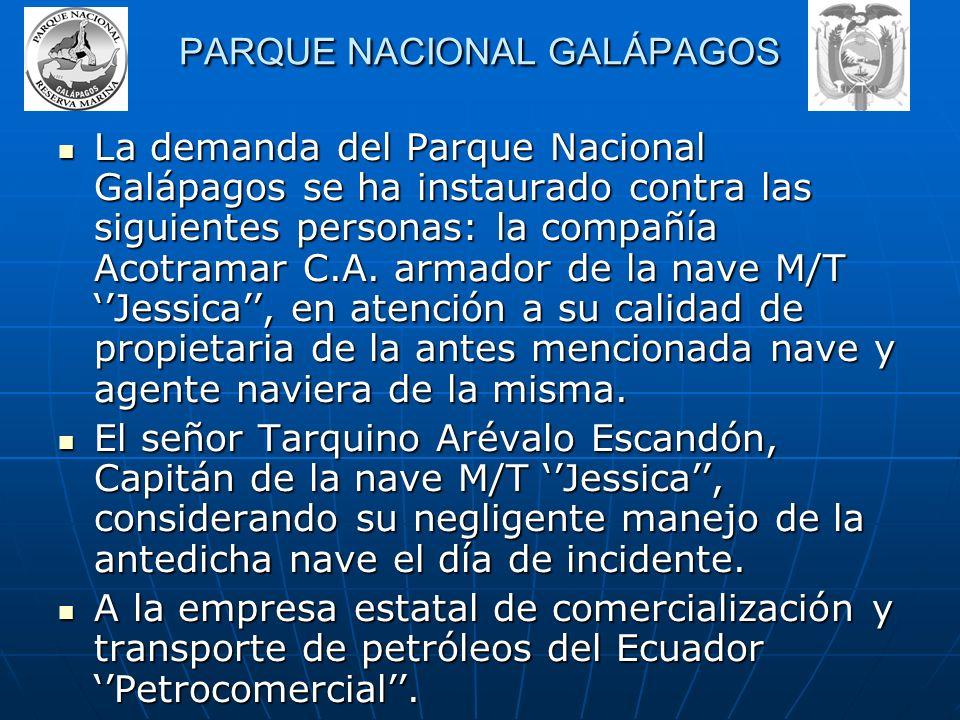La demanda fue presentada ante el presidente de la Corte Superior de Guayaquil en atención a expresas disposiciones de la Ley de Gestión Ambiental - l