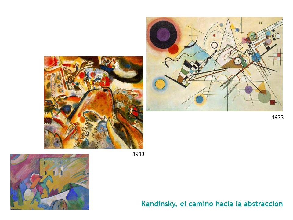 Kandinsky, el camino hacia la abstracción Pequeños placeres Pequeños placeres (Kleine Freuden), junio de 1913 Óleo sobre lienzo 109,8 x 119,7 cm Solom