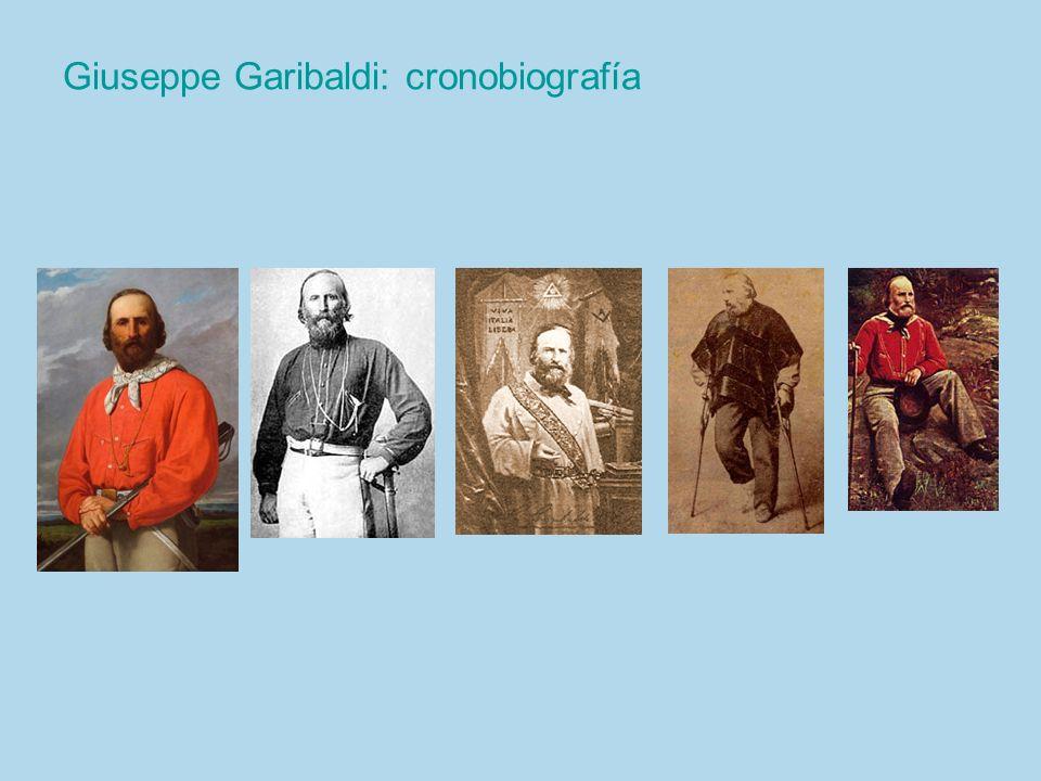 Giuseppe Garibaldi: cronobiografía