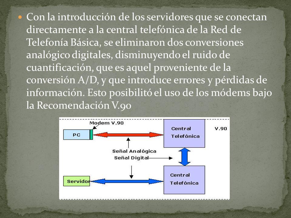 Con la introducción de los servidores que se conectan directamente a la central telefónica de la Red de Telefonía Básica, se eliminaron dos conversion