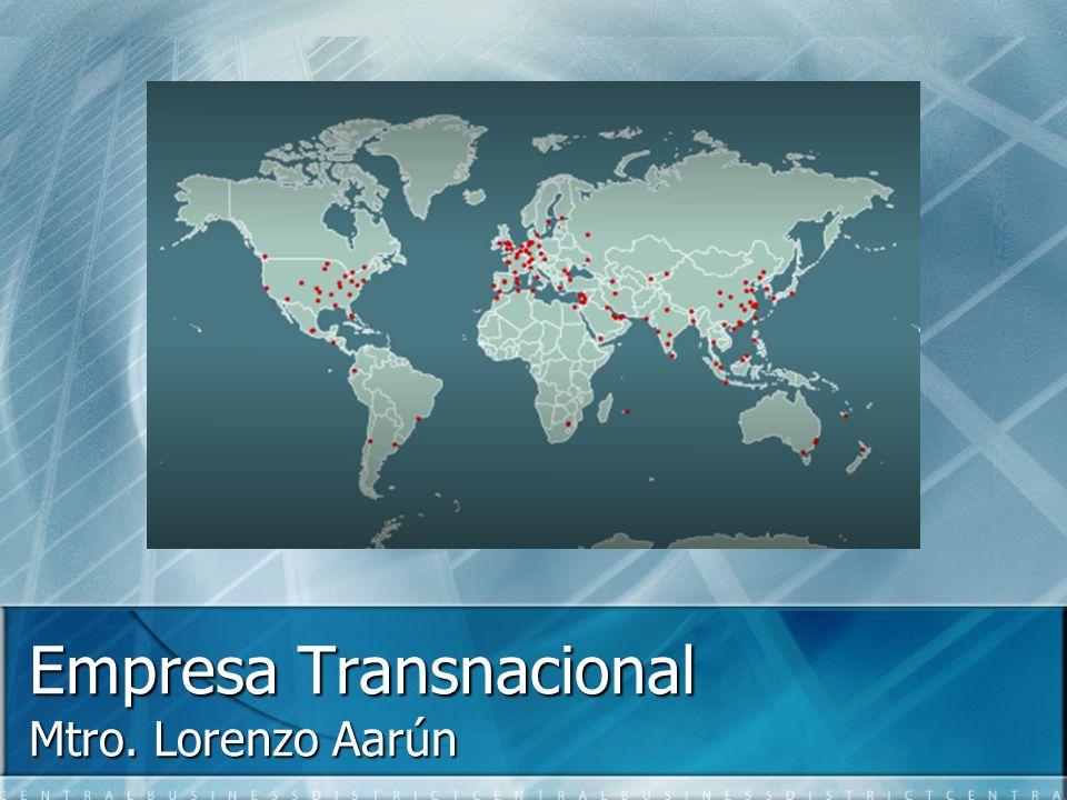 Empresa Transnacional Mtro. Lorenzo Aarún
