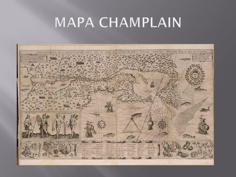 MAPA CHAMPLAIN